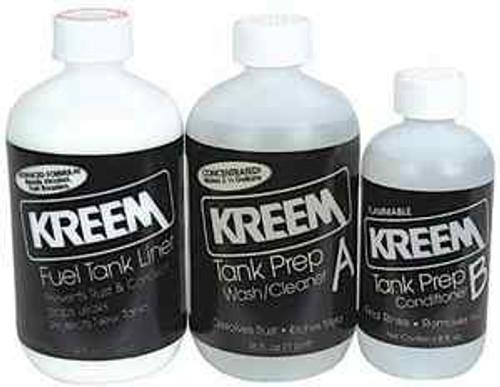 Kreem Fuel Tank Liner & Tank Prep Combo Pack