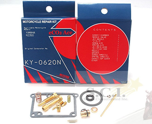 Yamaha Carb Repair Kit RZ350 (83-85)  KY-0620