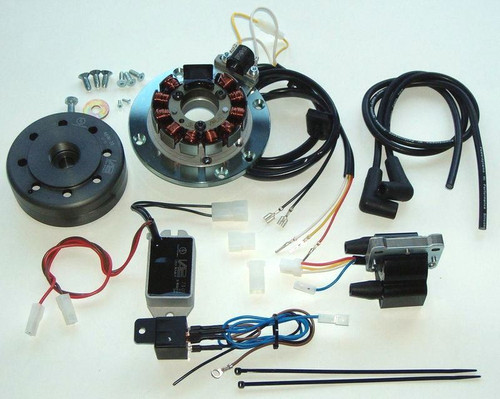 Yamaha AS, AS2,AS3, TA125, RD125  CDI Ignition-12v/180W, 71-03-799-00