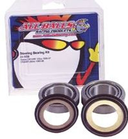 Tapered Steering Bearing Kit Yamaha  RD60, YSR50, RS100, TY, SR, DT, RT, IT, MX,XT, YZ. 22-1008