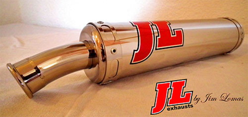 JL Exhaust Yamaha RD350LC Exhausts - Street