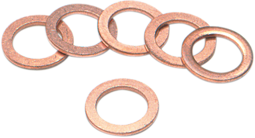 Brake Banjo Washer, 10mm Copper 6 pack, 445166