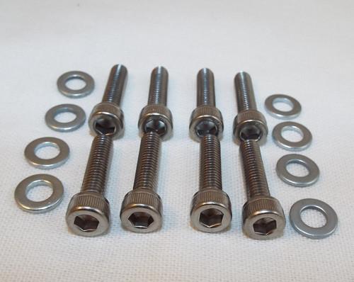 Yamaha RD, RZ Intake Manifold allen Head bolt set, Stainless