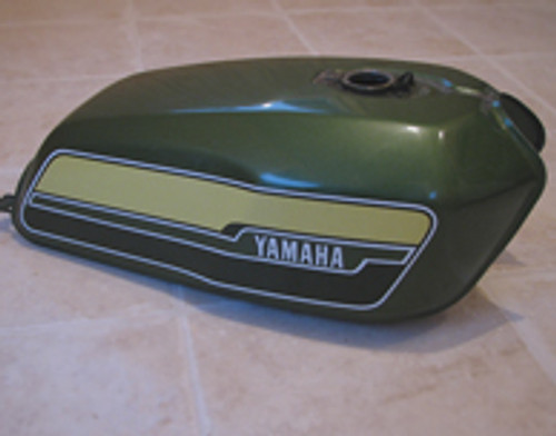 RD400C 1976 Green Complete Decal Set