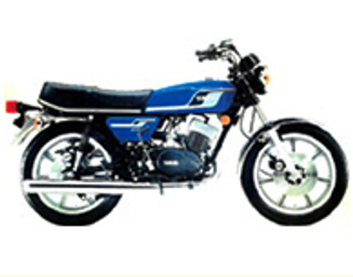 RD400D 1977 Blue Complete Decal Set
