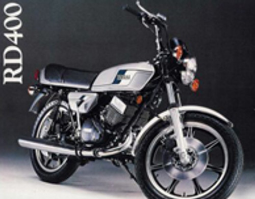 RD400E 1978 Complete Decal Set