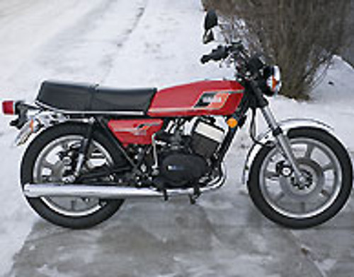 RD400D 1977 Red Complete Decal Set