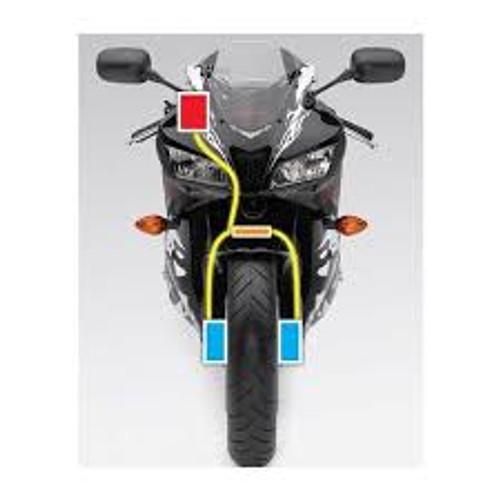 Yamaha RZ350, RD350LC, YPVS Brake Line Kit
