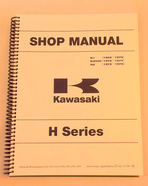 Kawasaki H1, KH500, H2  Shop Manual,  99997-711