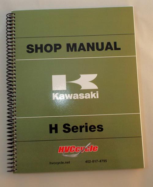 Kawasaki H1, KH500, H2  Shop Manual,  99997-711