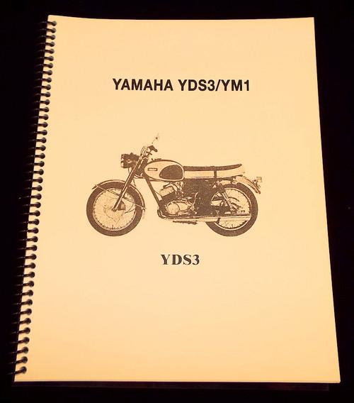 Yamaha YDS3 / YM1 Parts Manual  HVC200131-YDS3