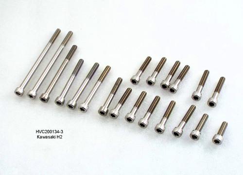 Frame /& Covers A2 Stainless bolt kit Kawasaki KE125  Engine