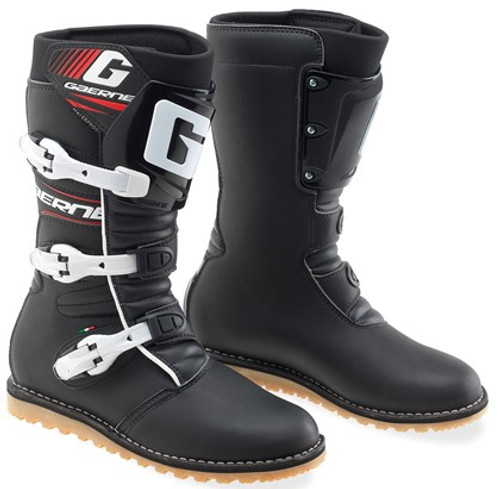 Gaerne Balance Boots, Classic Black Trials Boots 10% off