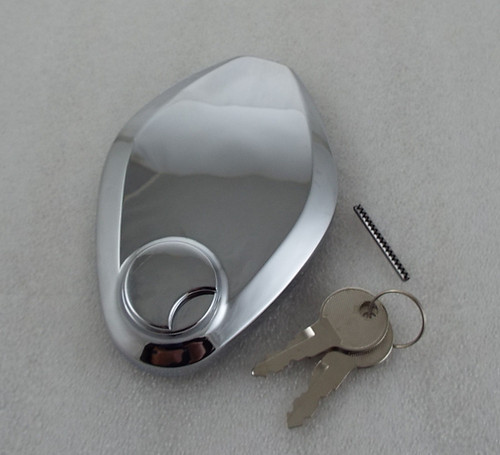 Kawasaki Fuel Cap with Keys.  92043-127, 43-61012