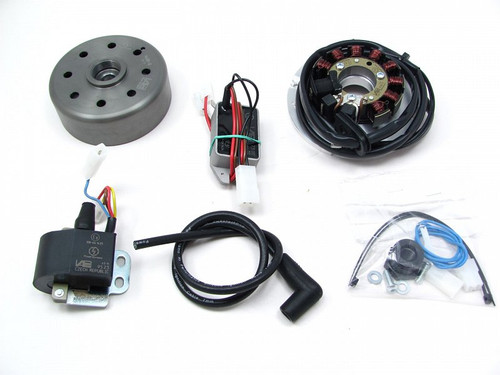 Ignition & Charging system, Yamaha CT1/CT2/CT3, AT-M; Yamaha RS100/125 (Later version, 130mm) 781279900
