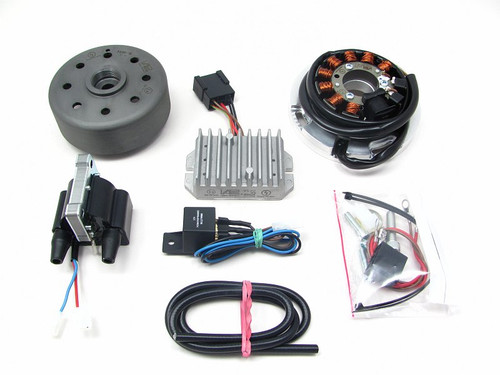 Ignition & Charging system, Yamaha RD200 Type 397 and Type 1E8 (12V/150W) 783379900