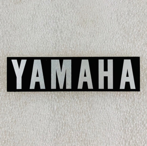 Yamaha RD250, RD350 Right Engine Side Cover Decal, 360-15435-00-00,  HVC20087-1
