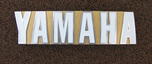 Vintage Parts Catalog - Decals & Badges - Yamaha Decals and