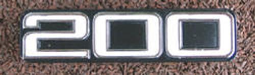 Yamaha RD200 A/B/C Sine Cover Badge YS34