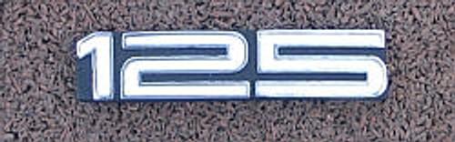 Yamaha AT3 Side Cover Badge  YS44