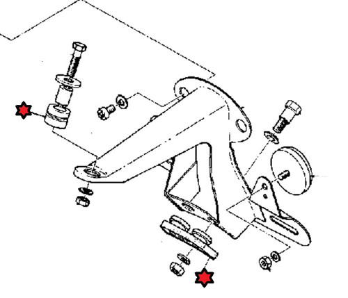 Yamaha Tail Light Damper Kit Hvc20080