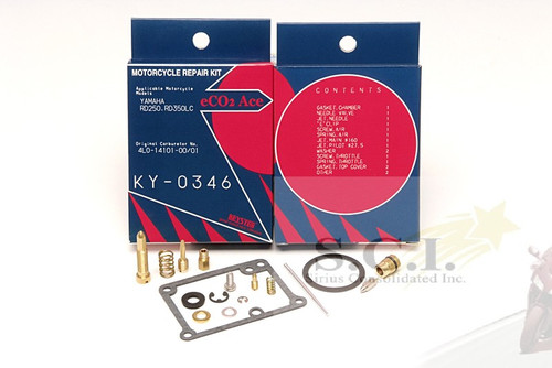 RD350LC, RD350 1980-1985 Carburetor Repair Kit. KY0346