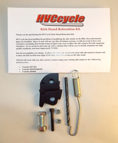 HVCcycle Kick Stand Relocation Kit