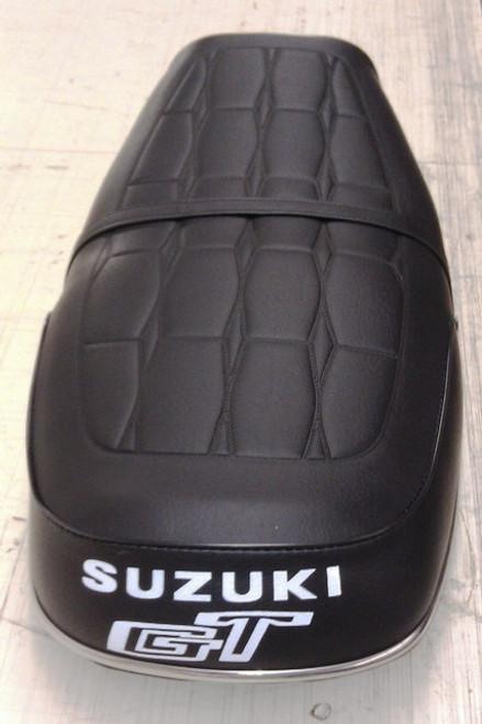 Suzuki GT750 Reproduction Seat Cover (Diamond pattern)