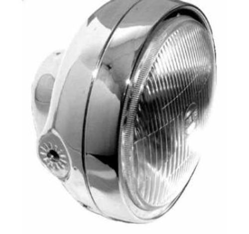 "Classic 7"" Headlight, with H-4 Bulb."