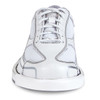 Brunswick Team Brunswick Womens Bowling Shoes - White - Right Handed - front of shoe