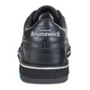 Brunswick Team Brunswick Mens Bowling Shoes - Black - Right Handed - WIDE - back of shoe