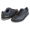 Brunswick Rampage Mens Bowling Shoes - Black - Right Handed -  WIDE - angle