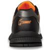 Hammer Vixen Womens Bowling Shoes White/Black/Orange Right Hand - back of shoe