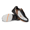 Hammer Vixen Womens Bowling Shoes White/Black/Orange Right Hand - pair featuring slide sole