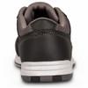 KR Strikeforce Spartan Mens Bowling Shoes Black/Charcoal - back of shoe