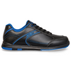 KR Strikeforce Flyer Youth Bowling Shoes Black/Mag Blue - side profile