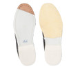 Linds Classic Womens Bowling Shoes White Leather Right Handed - bottom of shoes