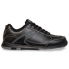 KR Strikeforce Flyer Mens Bowling Shoes Black WIDE - side profile