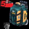 KR Strikeforce NFL Green Bay Packers 2 Ball Roller Bowling Bag Standing