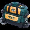 KR Strikeforce NFL Green Bay Packers 2 Ball Roller Bowling Bag
