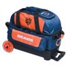 KR Strikeforce NFL Chicago Bears 2 Ball Roller Bowling Bag
