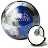 Brunswick Target Zone Indigo Swirl Bowling Ball and Core