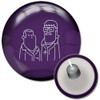 Radical Purple Spare Bowling Ball with core design