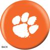 OTBB Clemson University Bowling Ball back