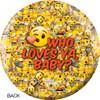 OTBB Emoji Who Love Ya Bowling Ball back