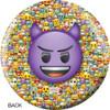 OTBB Emoji Steamed-Devil Bowling Ball back