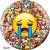 OTBB Emoji Laugh-Cry Bowling Ball back