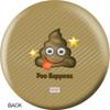 OTBB Emoji Poo Happens Bowling Ball back
