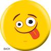 OTBB Emoji Yellow Faces Bowling Ball back
