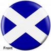 OTBB Scottish Flag Bowling Ball front